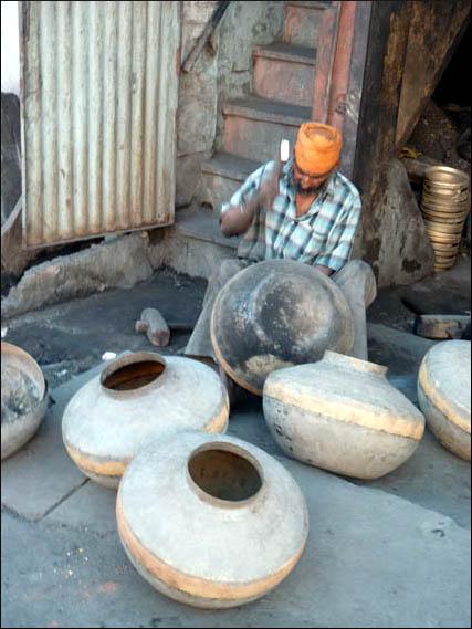 Artisanat de metal à Ujjain