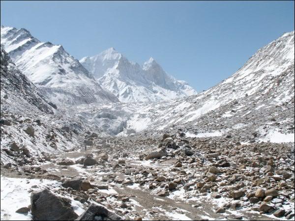 Gaumuch, une des sources du Gange